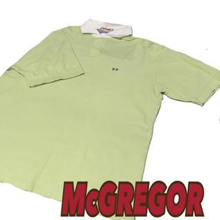 マックレガー(McGREGOR)の90'sビンテージ【McGREGOR】マックレガーLL ラガーシャツ ポロシャツ(ポロシャツ)