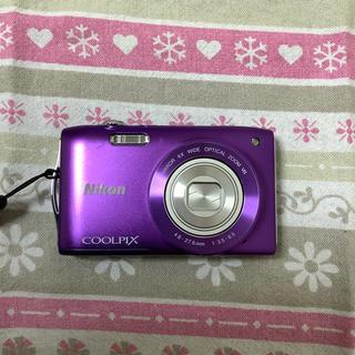 Nikon - デジカメ Nikon COOLPIX  S3300