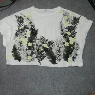 フレイアイディー(FRAY I.D)のフレイアイディー FRAY I.D ショート丈 花柄 Tシャツ(Tシャツ(半袖/袖なし))
