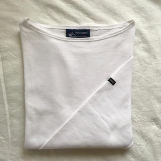 SAINT JAMES - セントジェームス  ウエッソン T3 ホワイト NEIGE 白 長袖