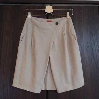 デプレ(DES PRES)のTOMORROWLAND トゥモローランドDES PRES★リネンタイトスカート(ひざ丈スカート)