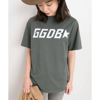 ゴールデングース(GOLDEN GOOSE)のドゥーズィエムクラス GOLDEN GOOSE ロゴTシャツ(Tシャツ(半袖/袖なし))