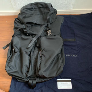 プラダ(PRADA)のPRADA プラダ v136 backpack 渋谷西武 (バッグパック/リュック)