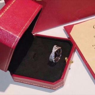 カルティエ(Cartier)のカルティエ★ディアマンレジェ LM★イエローゴールド(リング(指輪))