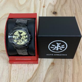アライブアスレティックス(Alive Athletics)の◆新品未使用◆ALIVE腕時計 DYNASTY pharaoh black(腕時計(アナログ))