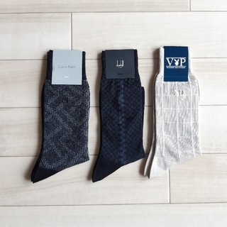 カルバンクライン(Calvin Klein)のMarch様専用  靴下3足セット 25㎝~26㎝(ソックス)