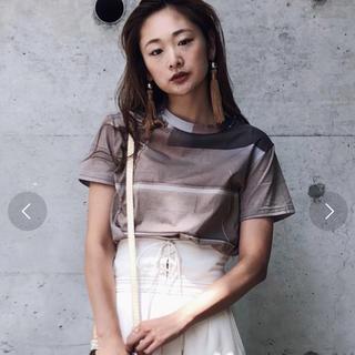 アメリヴィンテージ(Ameri VINTAGE)のCALM PLACE TEE   ameri(Tシャツ(半袖/袖なし))
