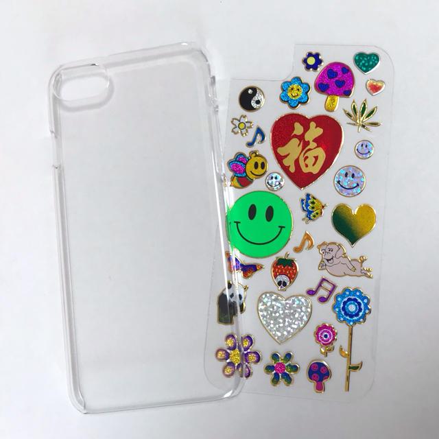 キラキラ iphone7/8ケース ① スマホ/家電/カメラのスマホアクセサリー(iPhoneケース)の商品写真
