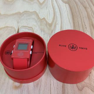 アライブアスレティックス(Alive Athletics)の◆新品未使用◆ALIVE腕時計 SIMPLE red(腕時計(デジタル))