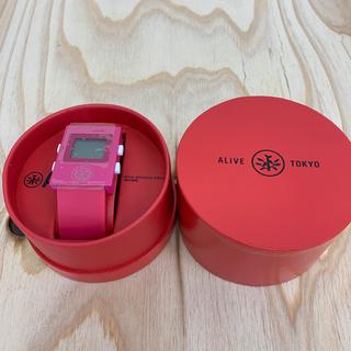 アライブアスレティックス(Alive Athletics)の◆新品未使用◆ALIVE腕時計 SIMPLE magentad(腕時計(デジタル))