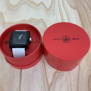 アライブアスレティックス(Alive Athletics)の◆新品未使用◆ALIVE腕時計 EASY black/white(腕時計(アナログ))