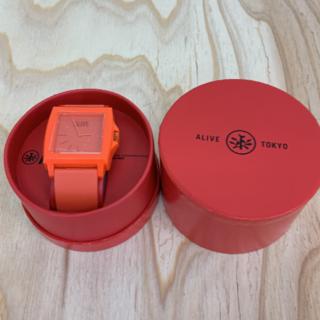 アライブアスレティックス(Alive Athletics)の◆新品未使用◆ALIVE腕時計 EASY orange(腕時計(アナログ))