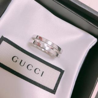 グッチ(Gucci)のGUCCI 直営店購入 22号 指輪(リング(指輪))