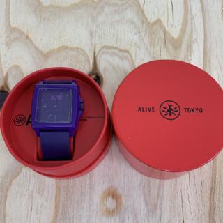 アライブアスレティックス(Alive Athletics)の◆新品未使用◆ALIVE腕時計 EASY purple(腕時計(アナログ))