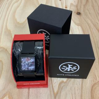 アライブアスレティックス(Alive Athletics)の◆新品未使用◆ALIVE腕時計 EASY black(腕時計(アナログ))