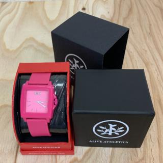 アライブアスレティックス(Alive Athletics)の◆新品未使用◆ALIVE腕時計 EASY magenta(腕時計(アナログ))