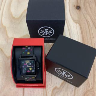 アライブアスレティックス(Alive Athletics)の◆新品未使用◆ALIVE腕時計 EASY black monogram(腕時計(アナログ))