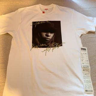 シュプリーム(Supreme)のSupreme Mary j blige tee white 白 L(Tシャツ/カットソー(半袖/袖なし))