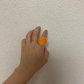 シアタープロダクツ(THEATRE PRODUCTS)のシアタープロダクツ theater products リング オレンジ(リング(指輪))
