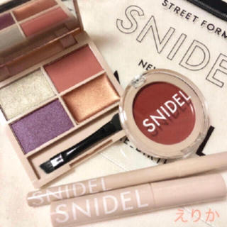 snidel - 新品♡5点セット♡ 『SNIDEL』コスメ♡✨クリアポーチ付き♡スナイデル