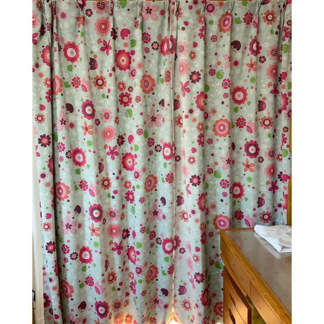 ベルメゾン(ベルメゾン)のミニラボ minilabo 遮光カーテン インテリア/住まい/日用品のカーテン/ブラインド(カーテン)の商品写真