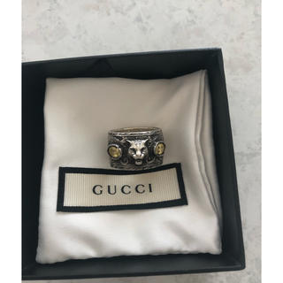Gucci - GUCCI  リング キャットヘッド