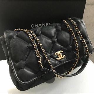 CHANEL - 美品☆シャネル正規品 バブルキルト チェーンバッグ お値下げ致しました。