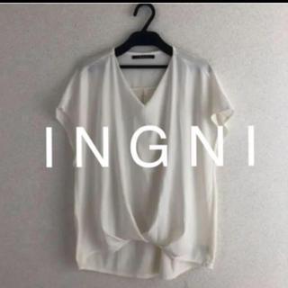 INGNI - 新品★I N G N Iイング★2018タックブラウソー
