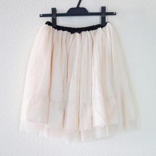 バービー(Barbie)のBarbie バービー チュールスカート(ひざ丈スカート)