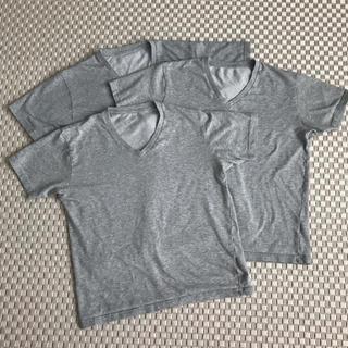 UNIQLO - ユニクロ Tシャツ 3枚セット グレー サイズM