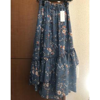 PROPORTION BODY DRESSING - 花柄 ロングスカート
