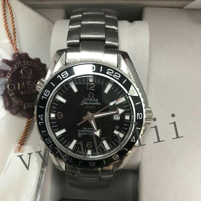 OMEGA - OMEGA オメガ   GMT メンズ腕時計の通販 by byram's shop|オメガならラクマ