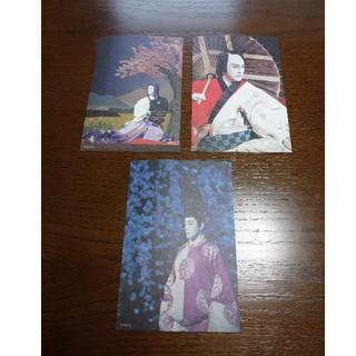 市川海老蔵  ポストカード(伝統芸能)