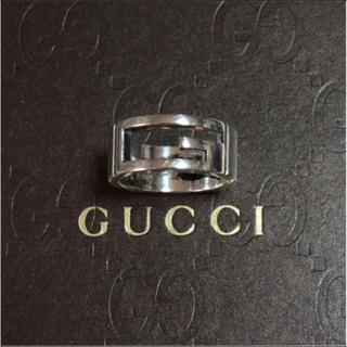 Gucci - GUCCI シルバー Gリング グッチリング
