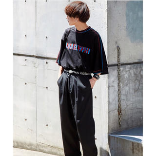 MIDWEST - doublet 19ss ANAGLYPH Tシャツ