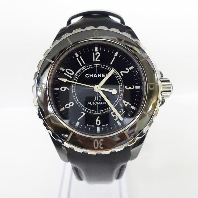 ミュウミュウ 猫柄 バッグ 、 CHANEL - CHANEL シャネル J12 レディース 腕時計 H0680 黒 ブラックの通販 by full-brandy's shop|シャネルならラクマ