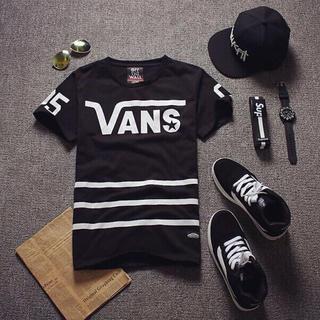 ヴァンズ(VANS)のVANSTシャツ黒L(その他)
