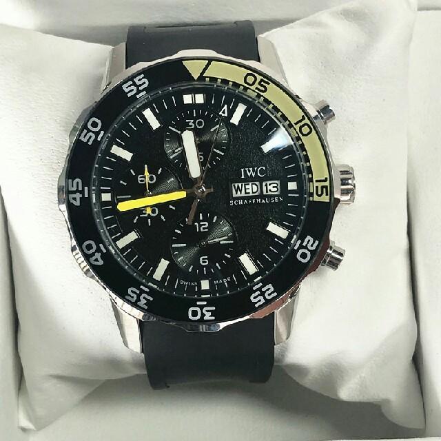 ウブロ 時計 3000万 | IWC - 送料無料 美品 IWC アクアタイマー クロノ IW376708 メンズ 時計の通販 by halfhea's shop|インターナショナルウォッチカンパニーならラクマ