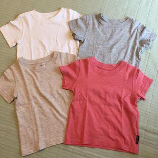 西松屋 - 西松屋 CHEROKEE  無地Tシャツ  4枚セット