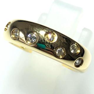 スタージュエリー(STAR JEWELRY)のダイヤモンド リング スタージュエリー k18yg 18金 イエローゴールド(リング(指輪))