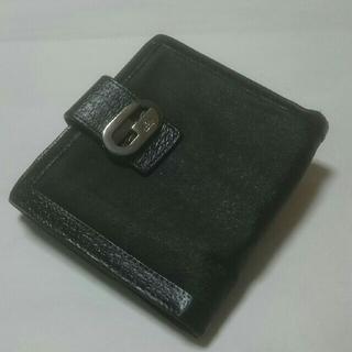 グッチ(Gucci)のGUCCIキャンパス二つ降り財布(財布)