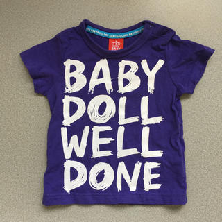 ベビードール(BABYDOLL)の34:  ベビードール Tシャツ 80(Tシャツ)