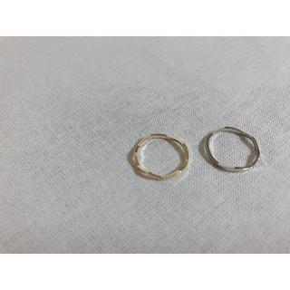 シンプル ピンキーリング ※ゴールドのみ(リング(指輪))