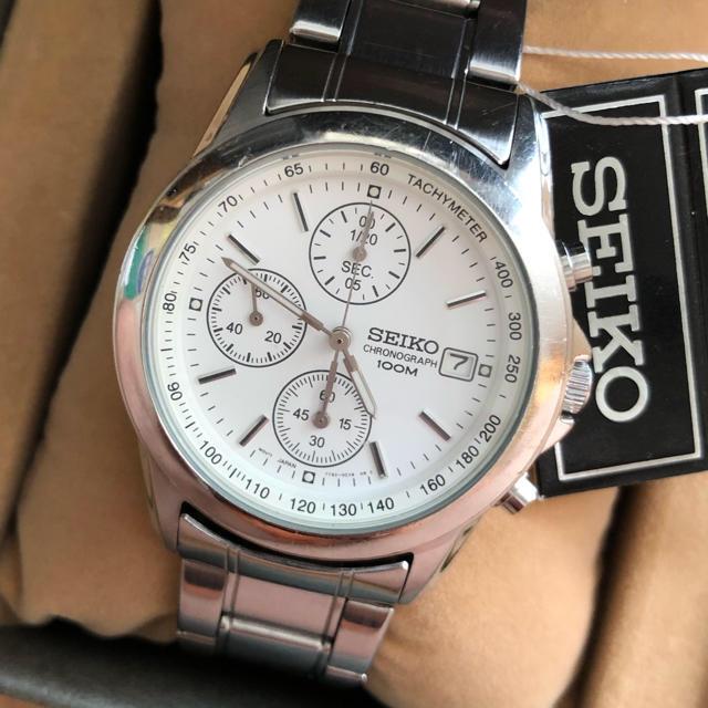 シャネル バッグ 京都 - SEIKO - セイコー SEIKO クロノグラフ 腕時計 白の通販 by kinkuma's shop|セイコーならラクマ