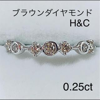 k18WG  ブラウンダイヤモンド リング(リング(指輪))