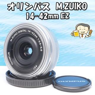 オリンパス(OLYMPUS)の❤静音動作!❤オリンパス M.ZUIKO 14-42mm❤(レンズ(単焦点))