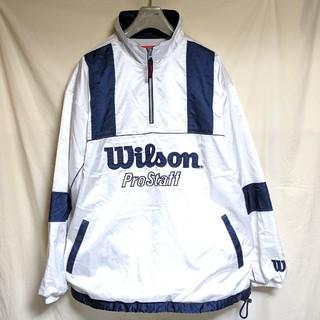 ウィルソン(wilson)の90's Wilsonウィルソン ナイロンプルオーバージャケット(ナイロンジャケット)