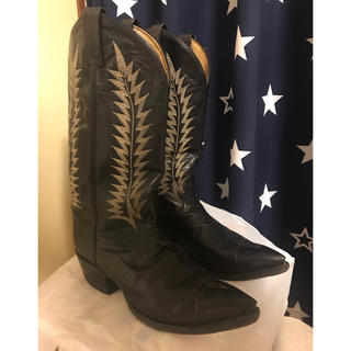 Tony Lama - トニーラマ ブーツ 黒色 black