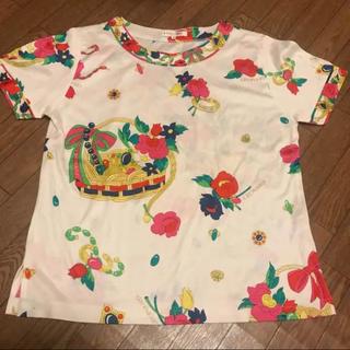 レオナール(LEONARD)のレオナール leonard 花柄 半袖シャツ(Tシャツ(半袖/袖なし))