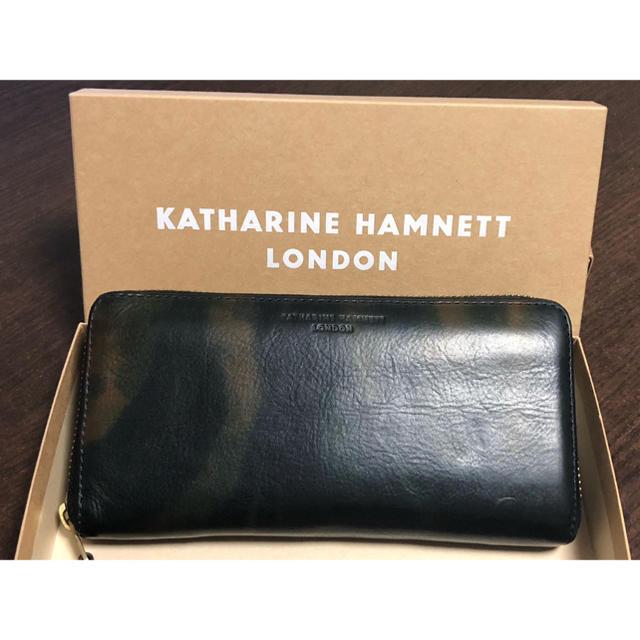 KATHARINE HAMNETT(キャサリンハムネット)の美品 長財布 KATHARINE HAMNETT メンズのファッション小物(長財布)の商品写真